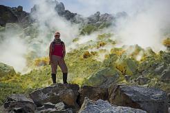 In Volcan Sierra Negra's Crater