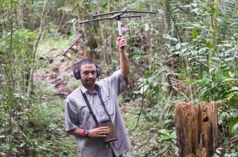 Fidy tracks carnivores in Madagascar