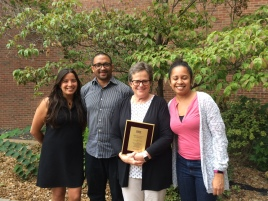 Patty and some of her graduate students (Photo: P. Zahn)